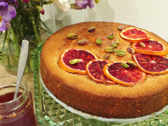 Blood Orange and Almond Cake