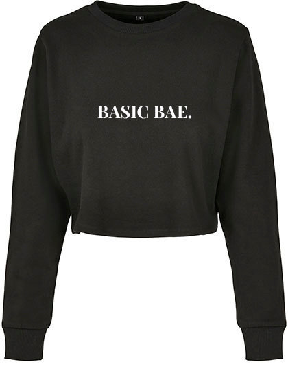 Cropped Sweater 'Basic Bae.'