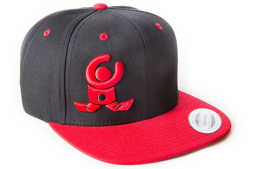 "Black Snapback 3D Red Logo ""Limited Edition"""
