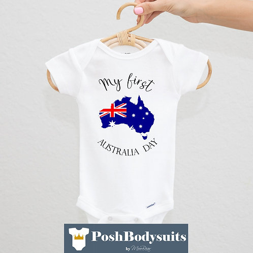 My first Australia Day Bodysuit