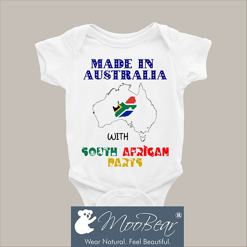 Made in Australia with South African parts Bodysuit