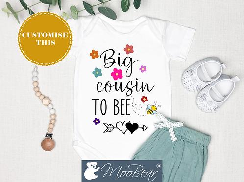 Big Cousin (Flowers) Bodysuit