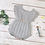 Thumbnail: Flutter Sleeve knit romper in Grey or Pink