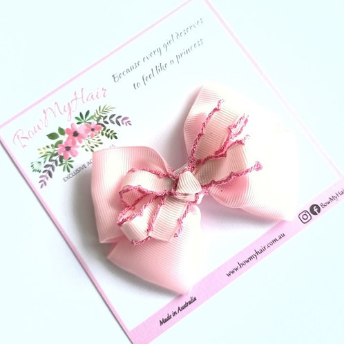 Fabulous Baby Pink Double Boutique Bow