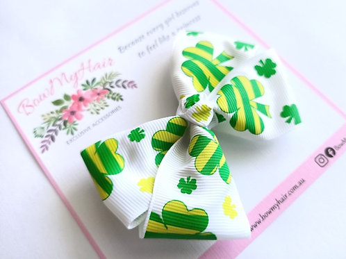 St. Patrick's Day Boutique Bow