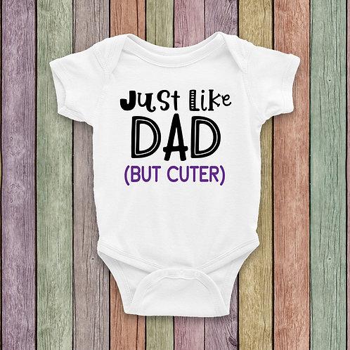 Just Like Dad Bodysuit