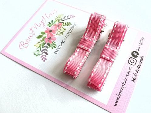 Pink Stitch Clips