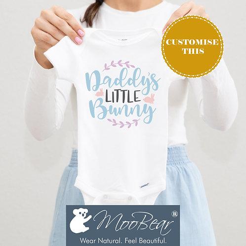 Daddy's little Bunny Bodysuit