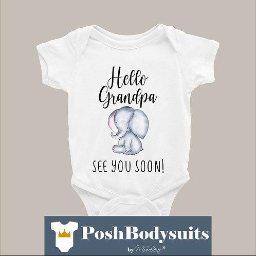 Hello Grandpa Bodysuit