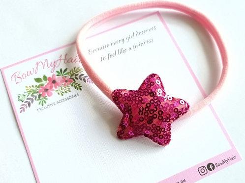 Sparkly Star Headband