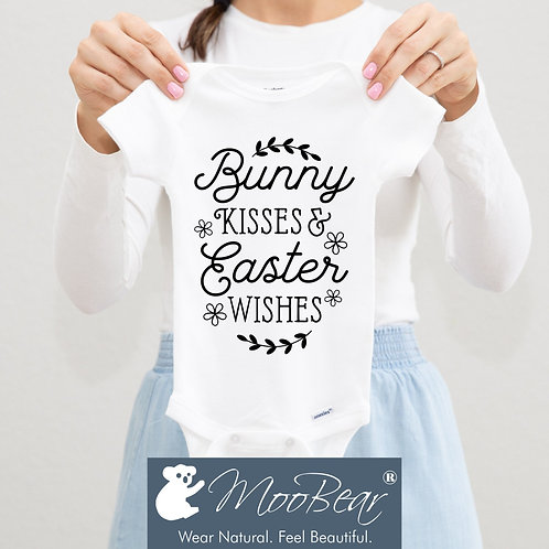 Bunny kisses and Easter wishes Bodysuit