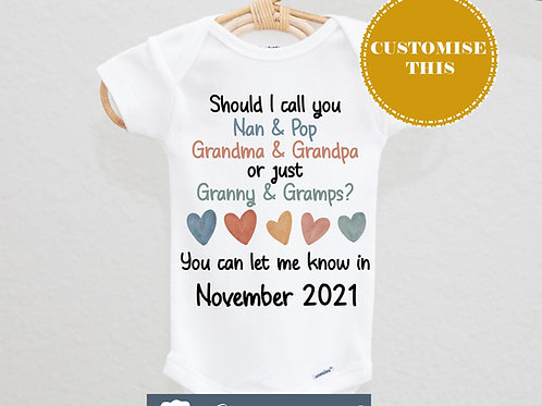 Should I call you grandparents Bodysuit