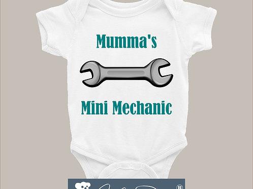 Mumma's mini-mechanic Bodysuit
