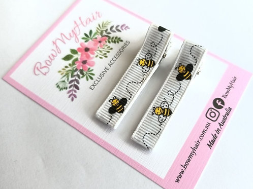 Buzzy Bees Pattern Clips
