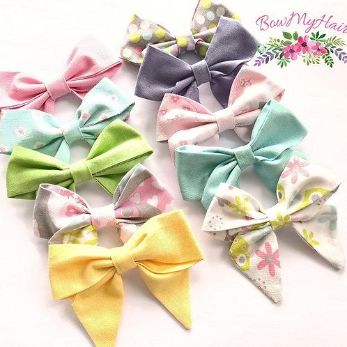 Sweet Fabric Sailor Bows