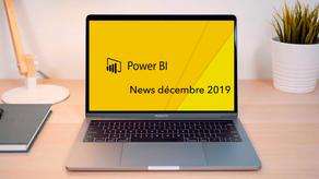 News : Nouvelles fonctionnalités Power BI décembre 2019