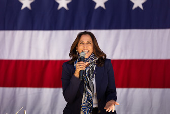 Kamala Harris campaigns in Reno