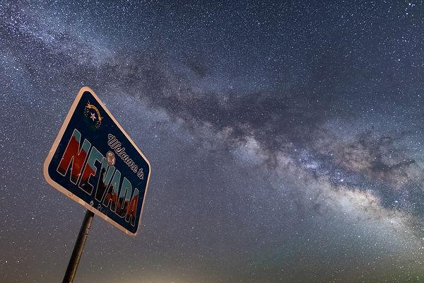 Nevada Milky Way (Trevor Bexon)