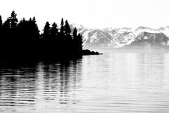 Lake Tahoe B+W
