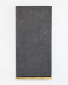 5. James William Murray. Untitled (James) v graphite, jute, brass, timber, steel. 60 x 124