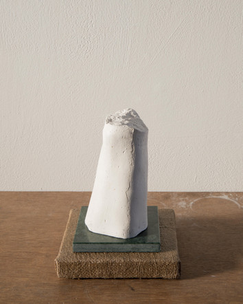 Also Men iv, 2020, plaster, marble, jute, plywood,