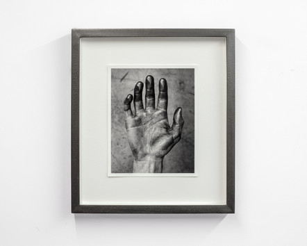 Touched i, 2016, archival pigment print, graphite, 29.5 x 33.5 x 3 cm, edition of 5 + 1 AP, private collections UK, NL, BE