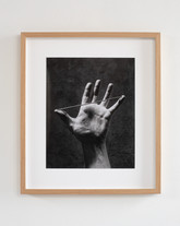 Touched iii, 2020, archival pigment print in oak frame, 29 x 36 cm (print) 46 x 53 cm (framed), edition of 5 + 2 AP