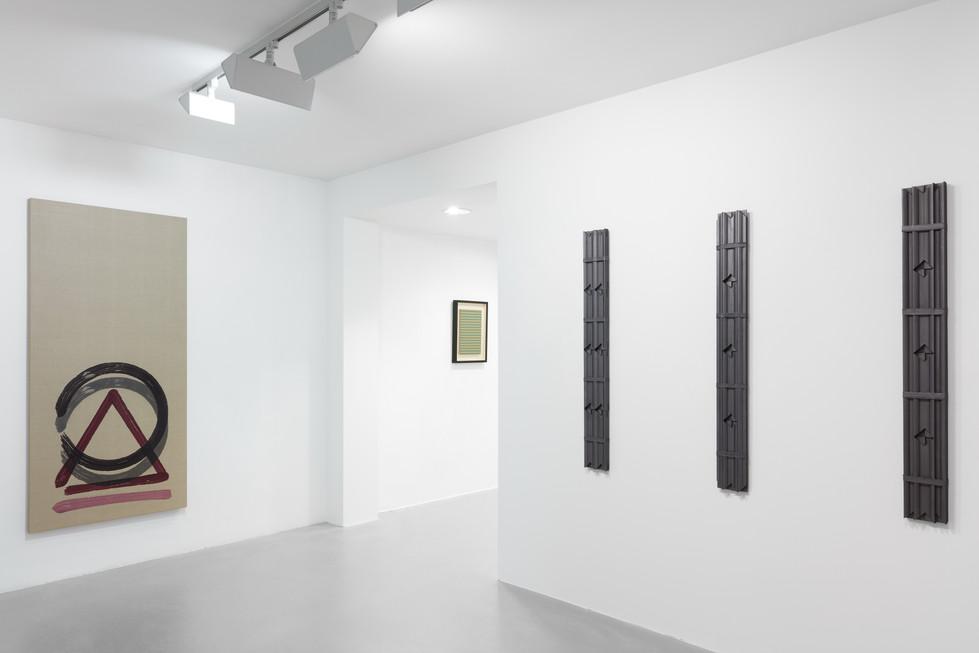 Between The Lines   with Richard Artschwager, Ross Hansen, Raoul De Keyser, Robert Mangold, Richard Serra, Dan van Severen, Masaaki Yamada   Stephane Simoens Contemporary Fine Art   Knokke, Belgium