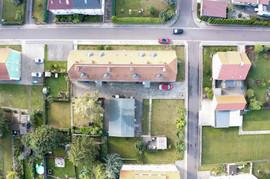 Luftaufnahme Bergstraße 11 und 13