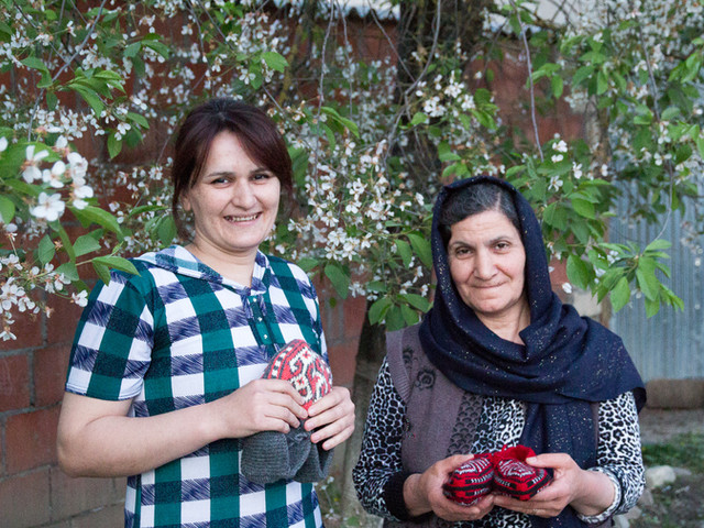 Elnura and Firuza