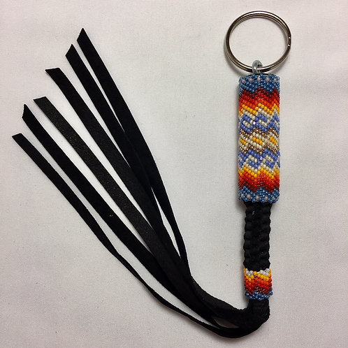 Navajo Handmade #15 Beaded Key Chain #15