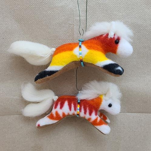 Navajo Horse Ornaments