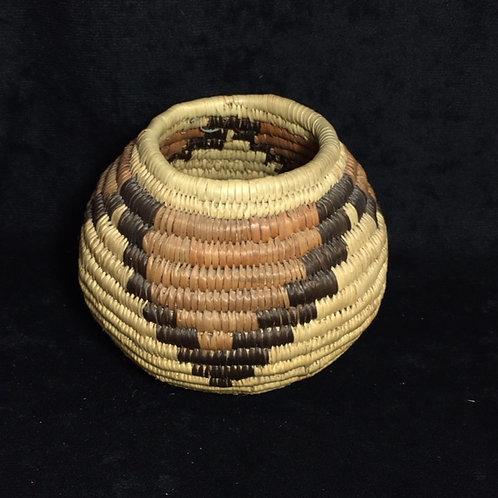 Tohono O'odam Coil Polychrome Basket