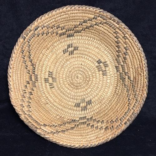 "Pima Native American Woven Basket 8"""