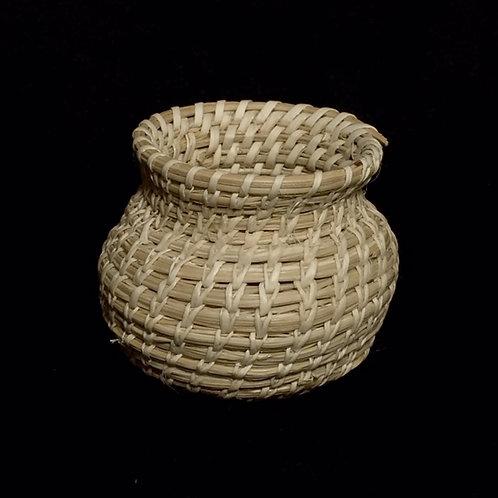Tohono O'odam Miniature Woven Basket