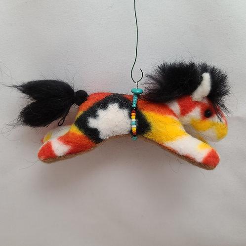 Navajo Horse Ornament