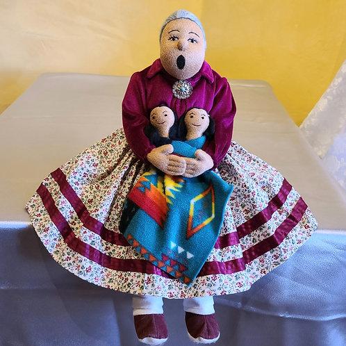 Navajo Grandma Storyteller Doll
