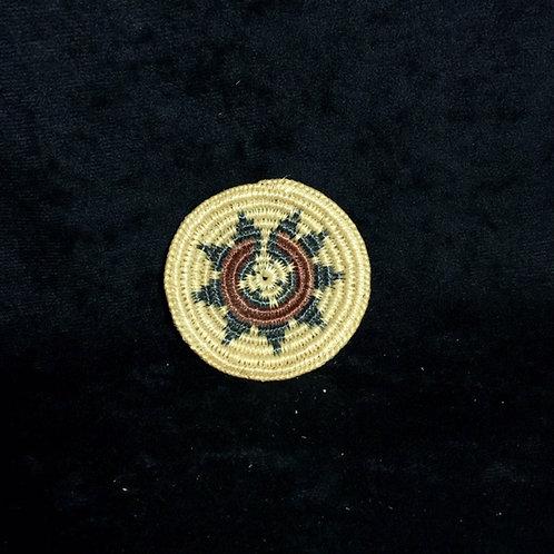 "Navajo Miniature Woven Basket 3"""