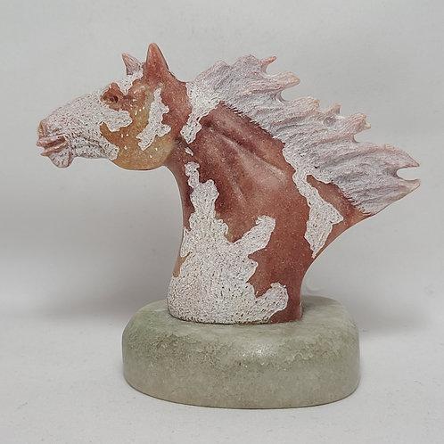 Navajo Carved Horse Head Fetish Harold Davidson