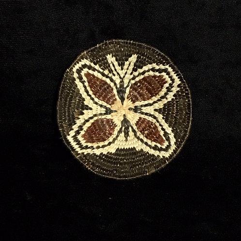 Tohono O'odam Miniature Butterfly Woven Basket