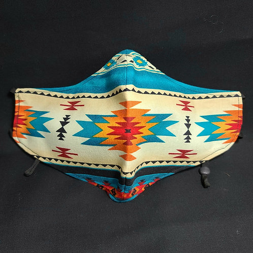 Handmade Face Mask Pinesprings Design #1