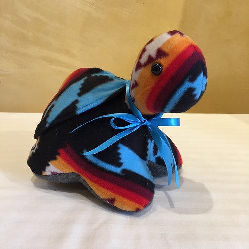 Navajo Handmade Turquoise Pendleton Turtle