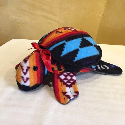 Navajo Handmade Turquoise Pendleton Water Turtle