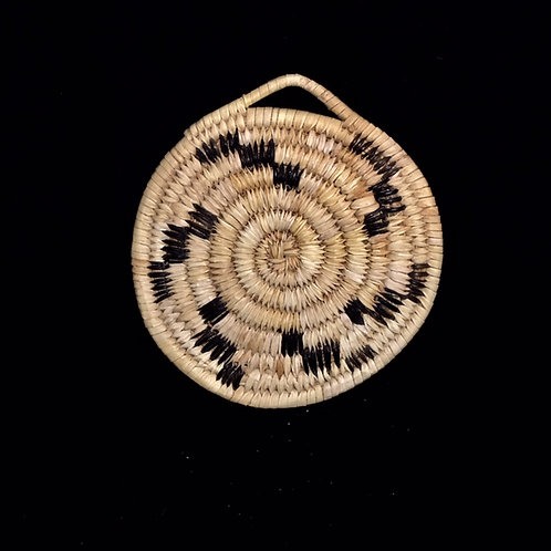 Tohono O'odam Woven Plaque Basket