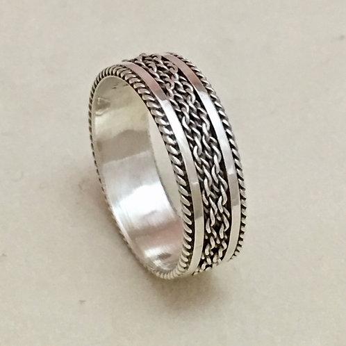 Navajo Sterling Silver Ring