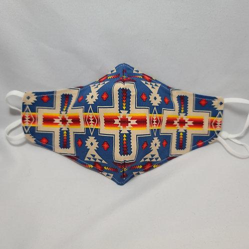 Handmade Native Design Face Mask
