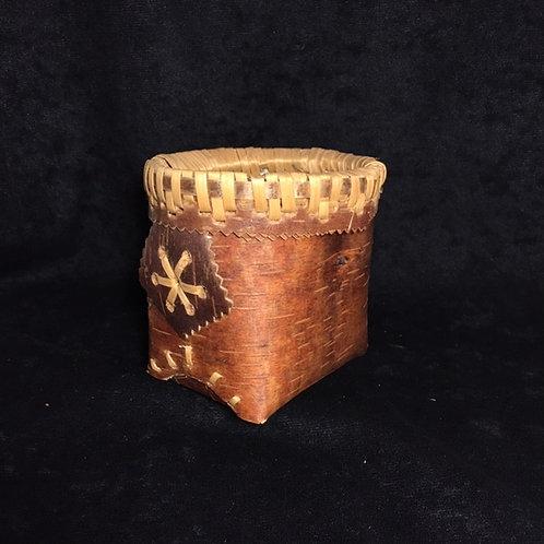 Shusmap Birch Bark Basket