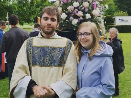 Max Marsh to serve as curate in St.Mary's