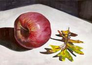 Apple and Oak Leaf