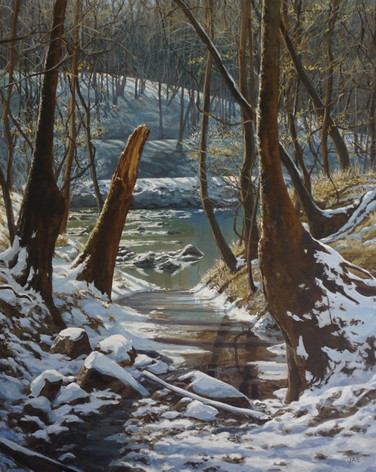 Icy Creek on the Haw